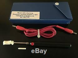 2 in 1 Brush plating and Pen plating Anode, for 24K Gold/Silver. Heavy Duty