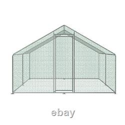 3m x 4m Chicken Run Coop Cage Pen Waterfowl Enclosure House for Hens Dog Poultry
