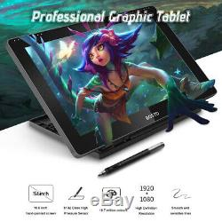 BOSTO 16HD IPS Graphics Drawing Tablet Display Monitor 19201080 With Stylus Pen