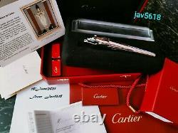 Cartier Panthere Panther F. Pen. Exceptional, Art, Relic, Rarest, New, The First