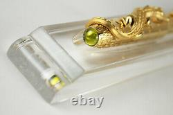 Crocodiles de Cartier Exceptional Fountain Pen NEW IN BOX EXTREMELY LOW #13