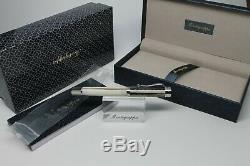 MONTEGRAPPA Ducale Murano Sabbis Rollerball Pen Stainless Steel Trim