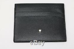 Montblanc Cruise Collection Blue Roller Ball + Meisterstuck Cardholder Gift Set