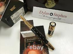 Montblanc patron of the arts Queen Elizabeth I limited edition 4810 fountain pen