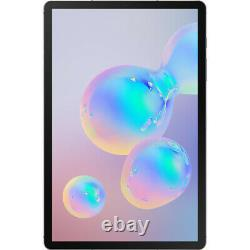 New Samsung Galaxy Tab S6 Sm-t860 128gb 10.5 Wifi Mountain Gray With S Pen