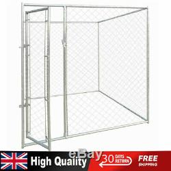 Outdoor Dog/Cat Kennel Pet House Fence Enclosure Run Cage Playpen