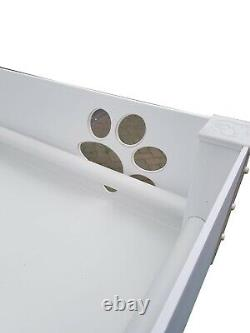 Puppy Dog Whelping Pen/box With Perspex Paw Window Size Large 120cmx120cmx40cm