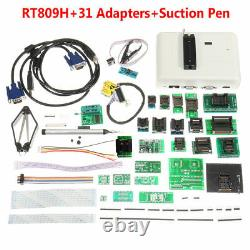 RT809H Flash Programmer EMMC-NAND +31 Adapters With Cables EMMC-NAND+Suction Pen