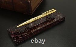 S. T. Dupont Pirates Of The Caribbean Ballpoint Pen With Stand 265101, New In Box