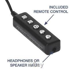 SL100 Voice Activated Recorder Pen, Small Audio Recording Device, 12hr Battery