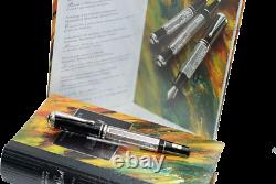 Sealed Montblanc Marcel Proust Silver Le Fountain Pen 1999