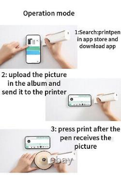 Worlds First Portable Printer Pen. Can Print on paper/skin/wood/glass